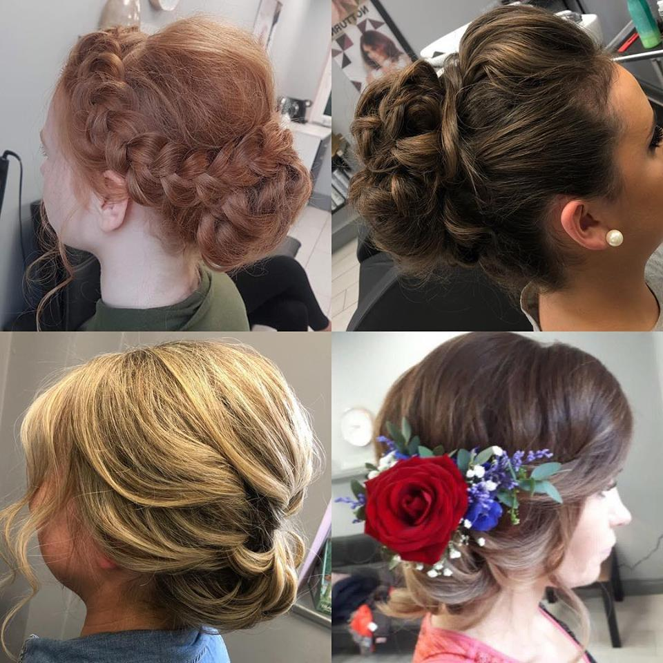 different hair upstyles